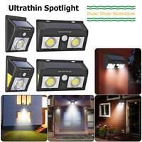62 LED Cob Lampe Solaire Extérieur Spots avec Détecteur de Mouvement Lumière
