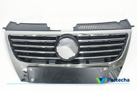 FRONT BUMPER RADIATOR GRILL WITH PDC Fits VW PASSAT B6 2005 - 2010  3C0853651AK