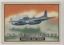 1952 Topps Wings - Friend or Foe R707-4 Dh Sea Hornet #147 2h8