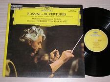 GIOACCHINO ROSSINI (HERBERT VON KARAJAN) - OUVERTURES - LP 33 GIRI FRANCE