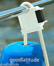 6 FENDERGRIP® Fender Holder Adjuster for Sea Ray or any Boat! LIFETIME WARRANTY!