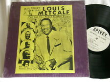 LOUIS METCALF at the Ali Baba I've Got Peace Brother Blues Spivey LP Sonny White