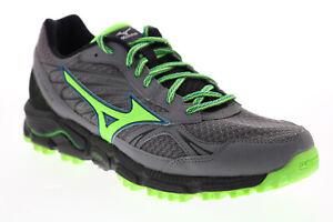 Mizuno Wave Daichi R646B1 Womens Gray Mesh Lace Up Athletic Running Shoes 9
