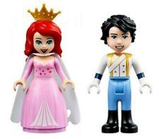 Lego Disney Princess Ariel & Prince Eric Minifigures From lego set 41153