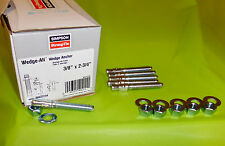 """lot of 6 WA37234 Wedge-All Anchors nuts/washers SIMPSON StrongTie 3/8"""" x 2 3/4"""""""