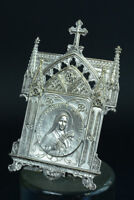 Lovely religious Stand oratory  St Theresa signed tschudin