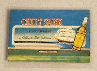 1963 Cutty Sark Chicago Cubs and White Sox Pocket Schedule RARE A
