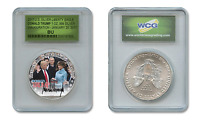DONALD TRUMP Presidential INAUGURATION 2017 1 oz US SILVER EAGLE Special Holder