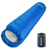 Kingcamp -13°C Mummy Sleeping Bag Camping Hiking Ultralight Compression Sack