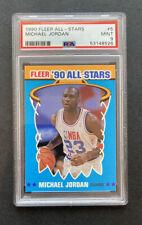 1990-91 Fleer All Stars Michael Jordan #5 PSA 9