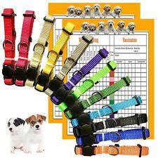 Gamuda Puppy Collars – Super Soft Nylon Whelping Puppy Id - Adjustable Breaka.