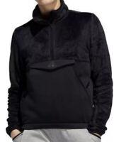 Adidas Sweatshirt Fleece Sherpa Detail 1/4 Zip Pullover Athletic Women XS S M NW