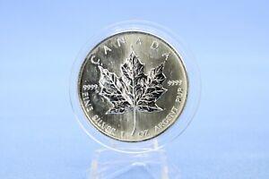 Kanada 5 $ 2008 Maple Leaf 1 oz 999  Silber *ST* in Kapsel