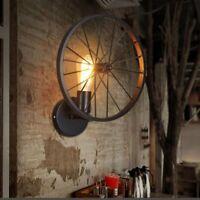 Lampada Da Parete Luce Muro Vintage Industriale Applique lampadine a led E27