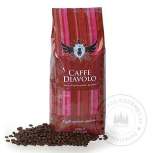 Caffe Diavolo Rosso - Espresso 3 x 1000g - ganze Bohne - Casa Gourmet