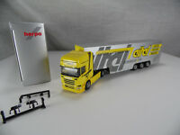 ht516, Herpa Sonderserie Scania R 2013 TL Eurokoffer - Sattelzug Eitel 1:87 NEU