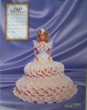 Annies Attic 1999 Bridal Dreams Barbie Fashion November Crochet Bed Doll Pattern