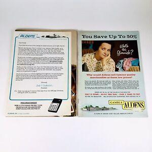Aldens Mail Order Catalogs 1968 1974 Vintage Lot Housewares Fashion Electronics