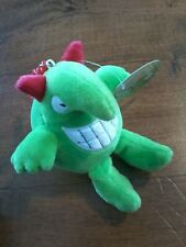 KEYCHAIN JUST FOR LAUGH VICTOR PLUSH NWT Vittorio Fiorucci desing