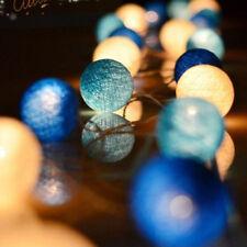 2.2M 20 LED Cotton Ball LED String Lights Party Wedding Christmas Decor Lights