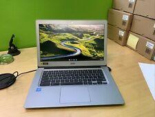 """Acer 14"""" Aluminum Chromebook 32GB Storage 4GB RAM"""