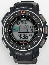 Casio Men's Protrek Tough Solar Triple Sensor Atomic Digital Watch PRW2500R-1