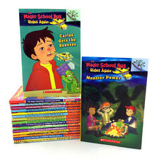 Lot 17 Magic School Bus Chapter Books Collection Kids 9-12 Science Series Set