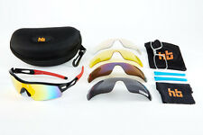 High Balance Tour Polarized Sports Sunglasses- 5 lenses