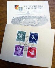 II. Deutsches Turn- und Sportfest Leipzig C1 1956 DDR Mi.-Nr. 530 - 533 Satz (24