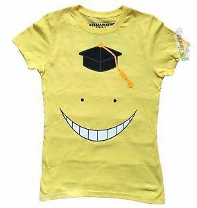 **Legit** Assassination Classroom Korosensei Face Authentic Junior T-Shirt#83488