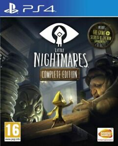 PS4-Little Nightmares (Complete Edition) (UK IMPORT) GAME NEW