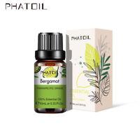 10ml Fragranze olio biologico oli essenziali aromaterapia pura 100% bergamotto
