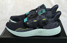 07fd0306a3a30 New Adidas ZX4000 4D Futurecraft Printed Sole Carbon Black UK 8.5 US 9 EU  42 2