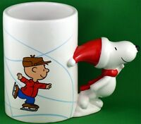50th anniversary Charlie Brown & Snoopy Christmas Ceramic Mug by Teleflora 18 oz