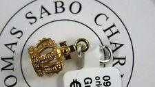 Thomas Sabo Charm Anhänger Krone 0945-413-12 gold Sterlingsilber NEU
