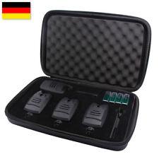 Bissanzeiger Angeln Funk Bissmelder mit LED 3+1 Set Anti-Diebstahl Lautstärke