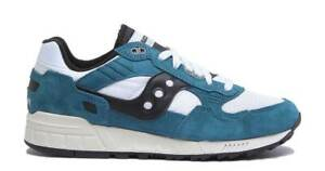 Saucony Men's Shadow 5000 Vintage Trainers Sneakers In Teal White Black NWB
