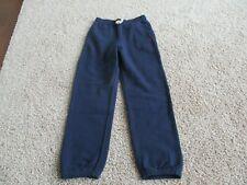 Bnwot Polo Ralph Lauren Big Boy Fleece Jogger Pants, Navy, size M(10-12), Cotton