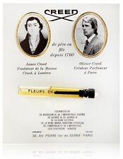 CREED FLEURS DE BULGARIE .08OZ 2.5ML x 1 PERFUME SAMPLE MINI VIAL NEW