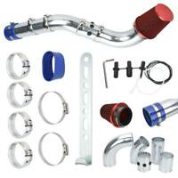 Universal Performance Cold Air Filter Feed Induction Intake Pipe Hose Kit Set