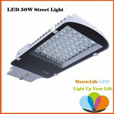 LED 50W Street Light Road Floodlight Outdoor Yard Garden Industrial Lamp 6000K