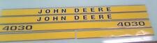 John Deere 4030 Hood Decals