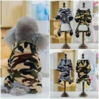 Pet Dog Hoodie Costume Clothes Jacket Coat Puppy Cat Winter Warm Sweater Apparel