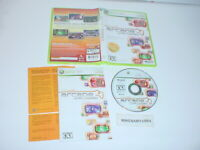 XBOX LIVE ARCADE UNPLUGGED VOL. 1 game complete w/ manual for Microsoft XBOX 360