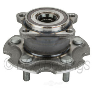 Wheel Bearing and Hub Assembly-AWD Rear BCA Bearing WE61617