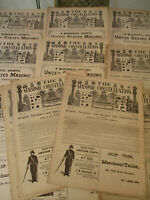 Masonic Constellation Freemasonry Antique Newspaper Knights Templar Mason 1894
