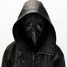 US SHIP The Plague Doctor Steampunk Plague Black Beak Mask Cosplay Props Masks
