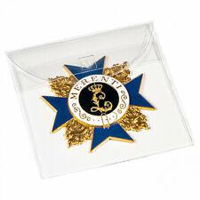 Schutztasche für Orden, Medaillen und Ehrenzeichen bis 90 mm, 50er-Pack