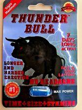 5 Pks Thunder Bull Sex Pills, Enhanced Male Stamina, (7days Effect) %100 Work!🙂