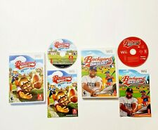 Backyard Baseball 10 & Sports Rookie Rush (Nintendo Wii) Complete 2 Lot Bundle